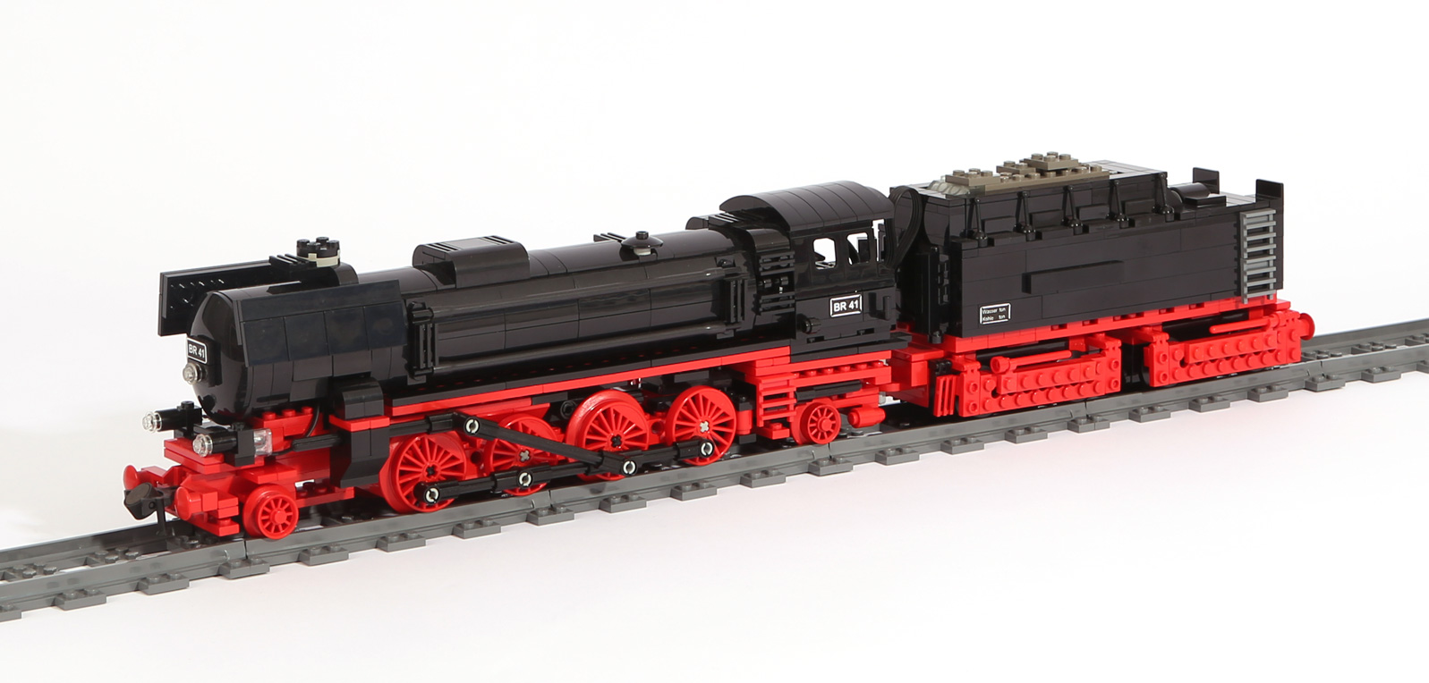 Dampflok-Baureihe BR 41 (eigene Modelle)