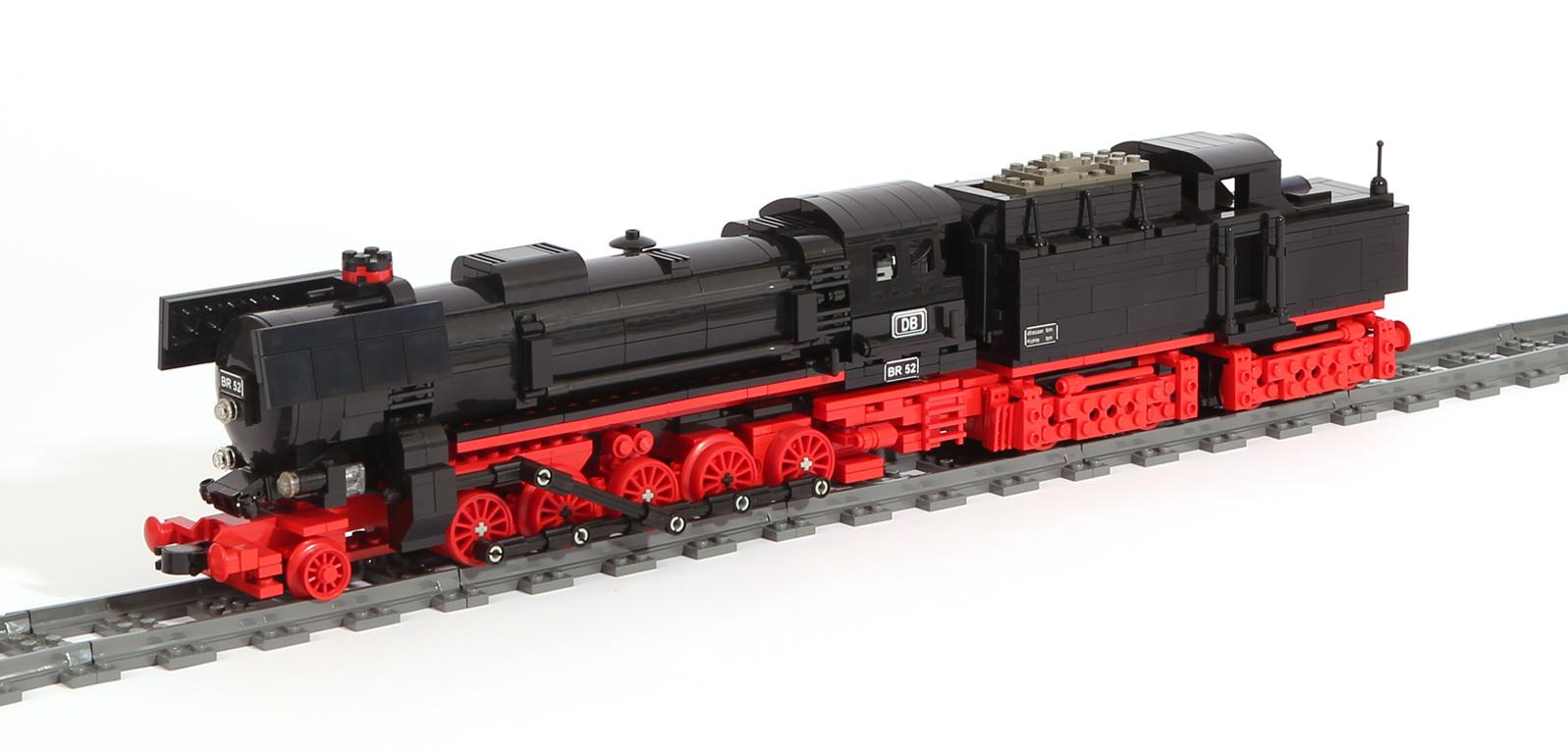 Dampflok-Baureihe BR 52 (eigene Modelle)