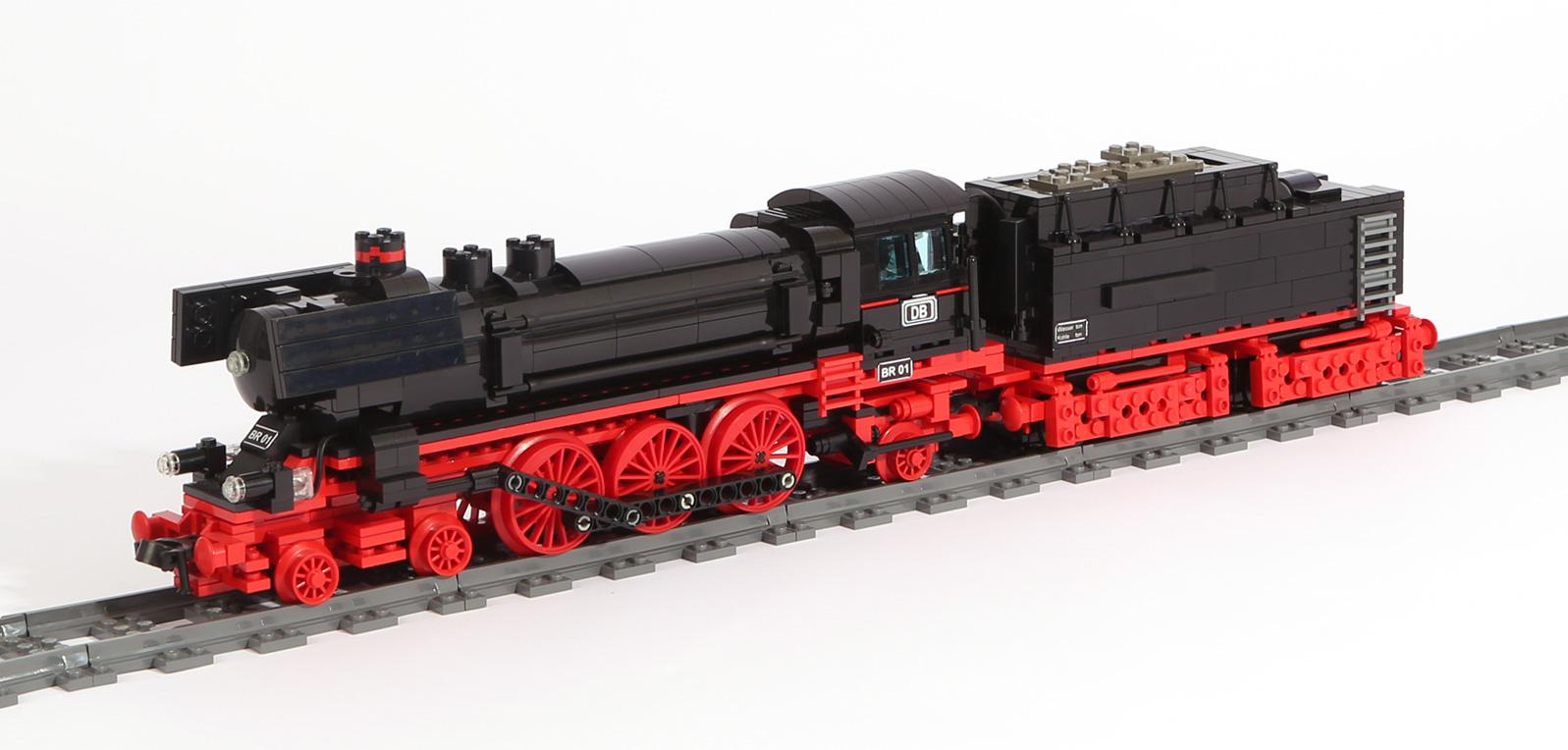 Dampflok-Baureihe BR 01 (eigene Modelle)