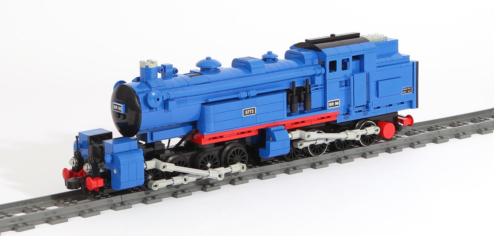 Dampflok-Baureihe BR 96 Mallet (Blaue Bavaria) (eigene Modelle)