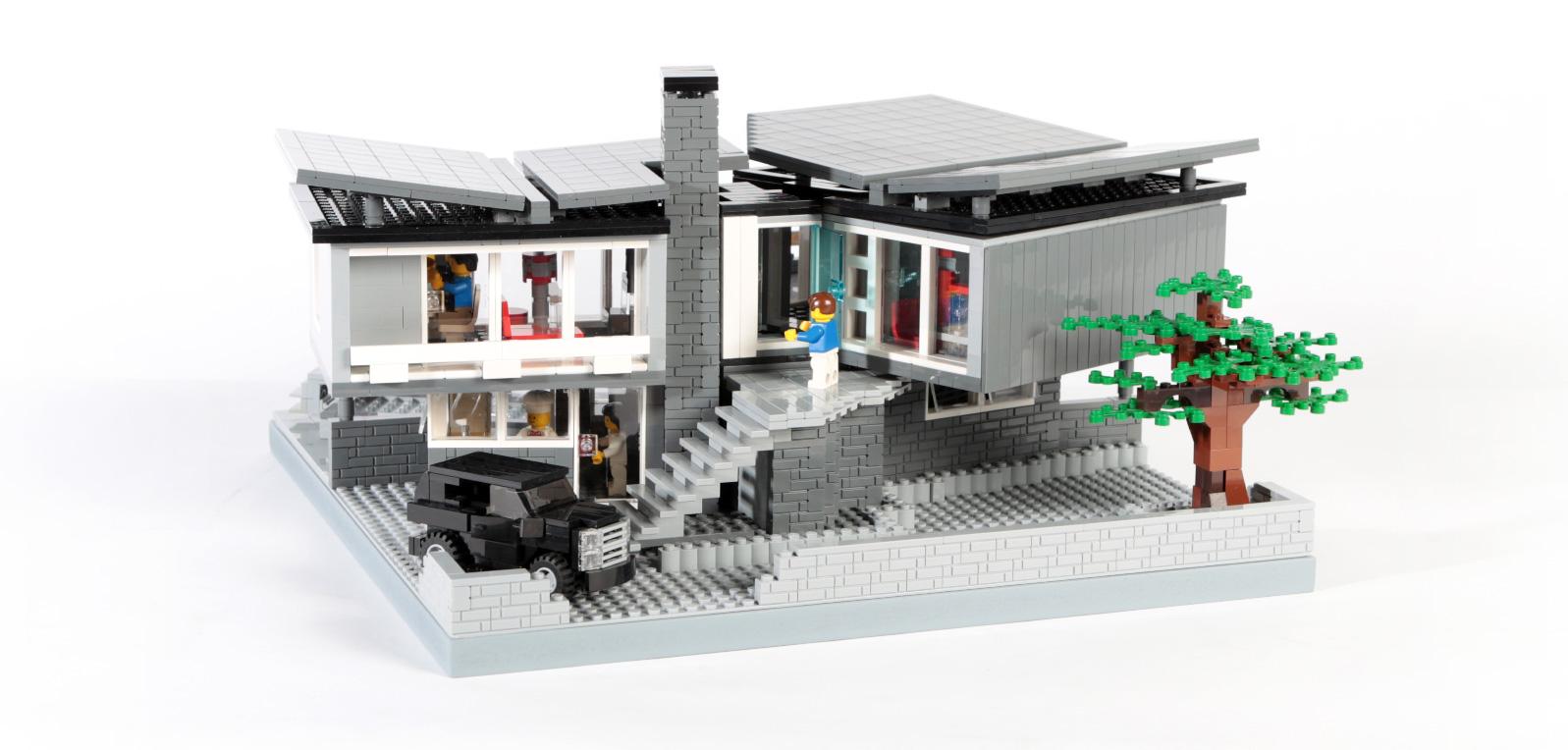 Villa in Tessin (eigene Modelle MOC)