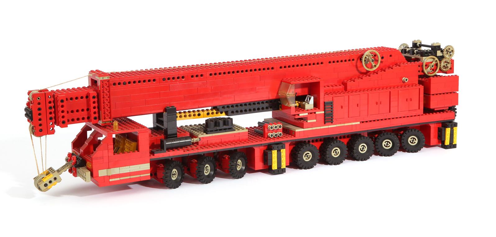Autokran 8 Achsen 500 Tonnen (eigene Modelle)