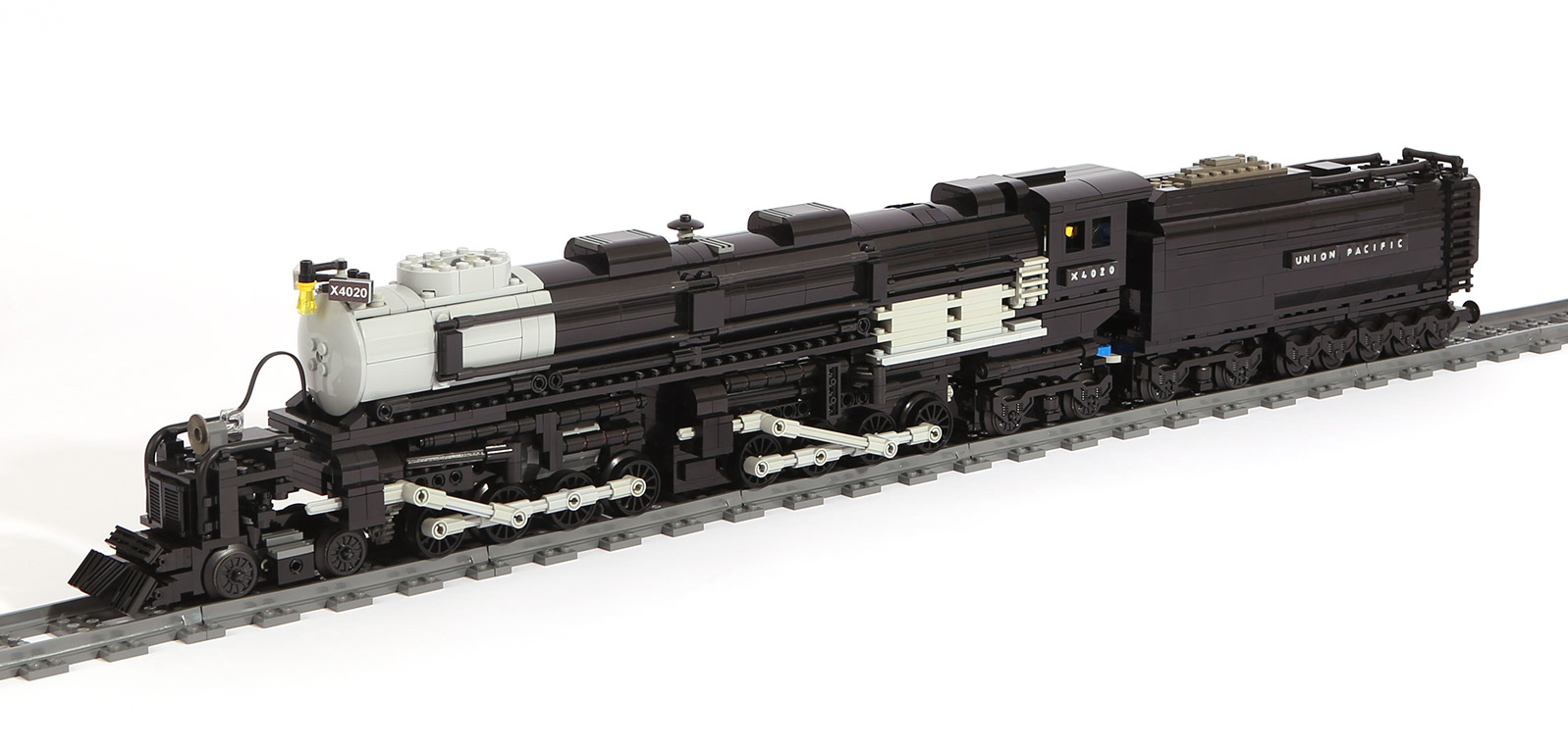 Dampflok-Baureihe X4020 Mallet BIG BOY (eigene Modelle)