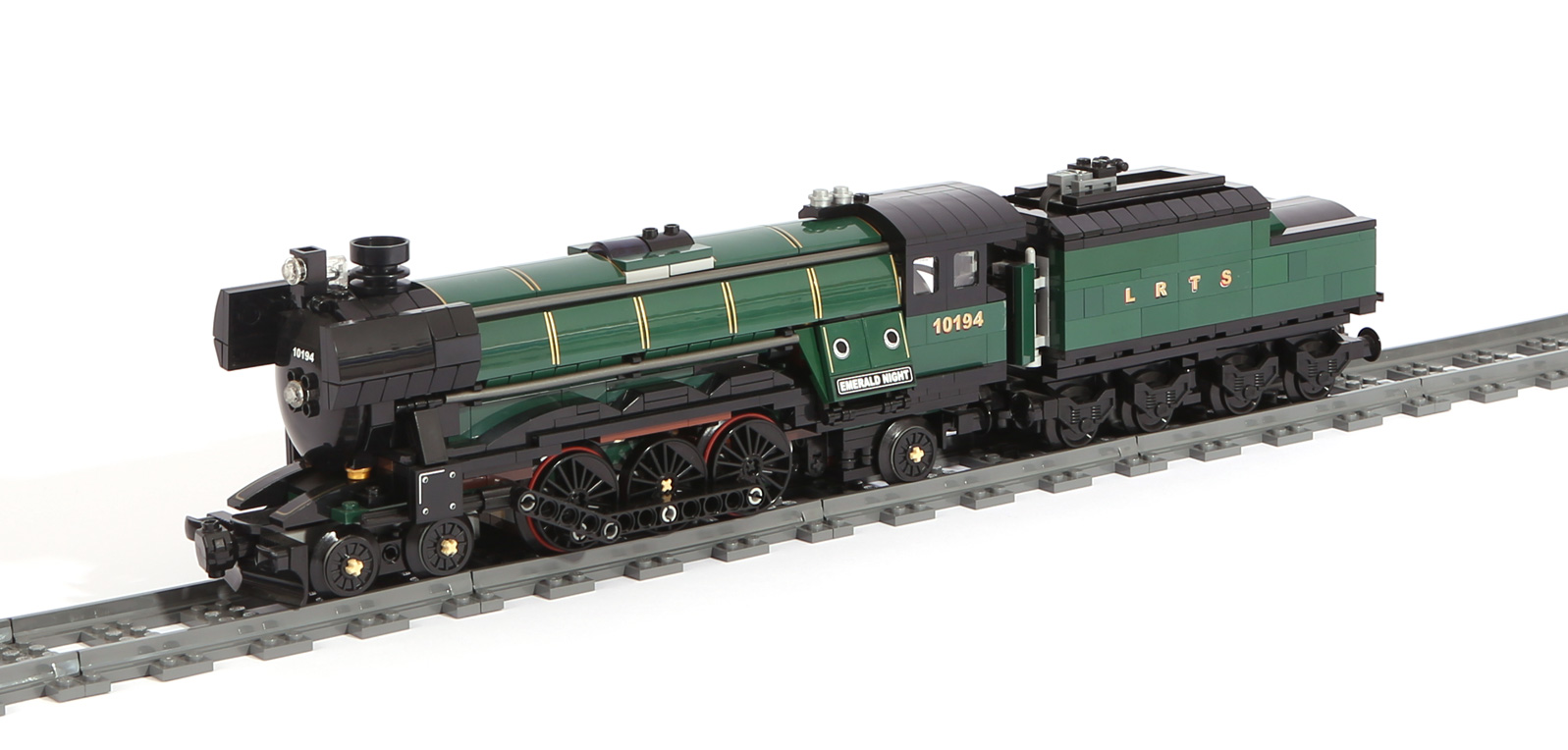 Dampflok-Emerald Express (Steam Train) – Original LEGO Set 10194