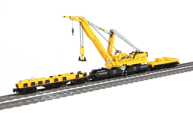 Eisenbahn Schwerlastkran (eigene Modelle) Type GOLIATH