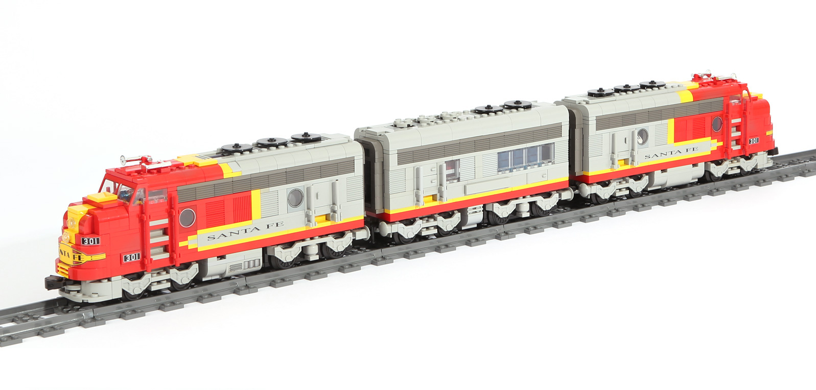 Santa Fe Super Chief – Original LEGO Set 10020