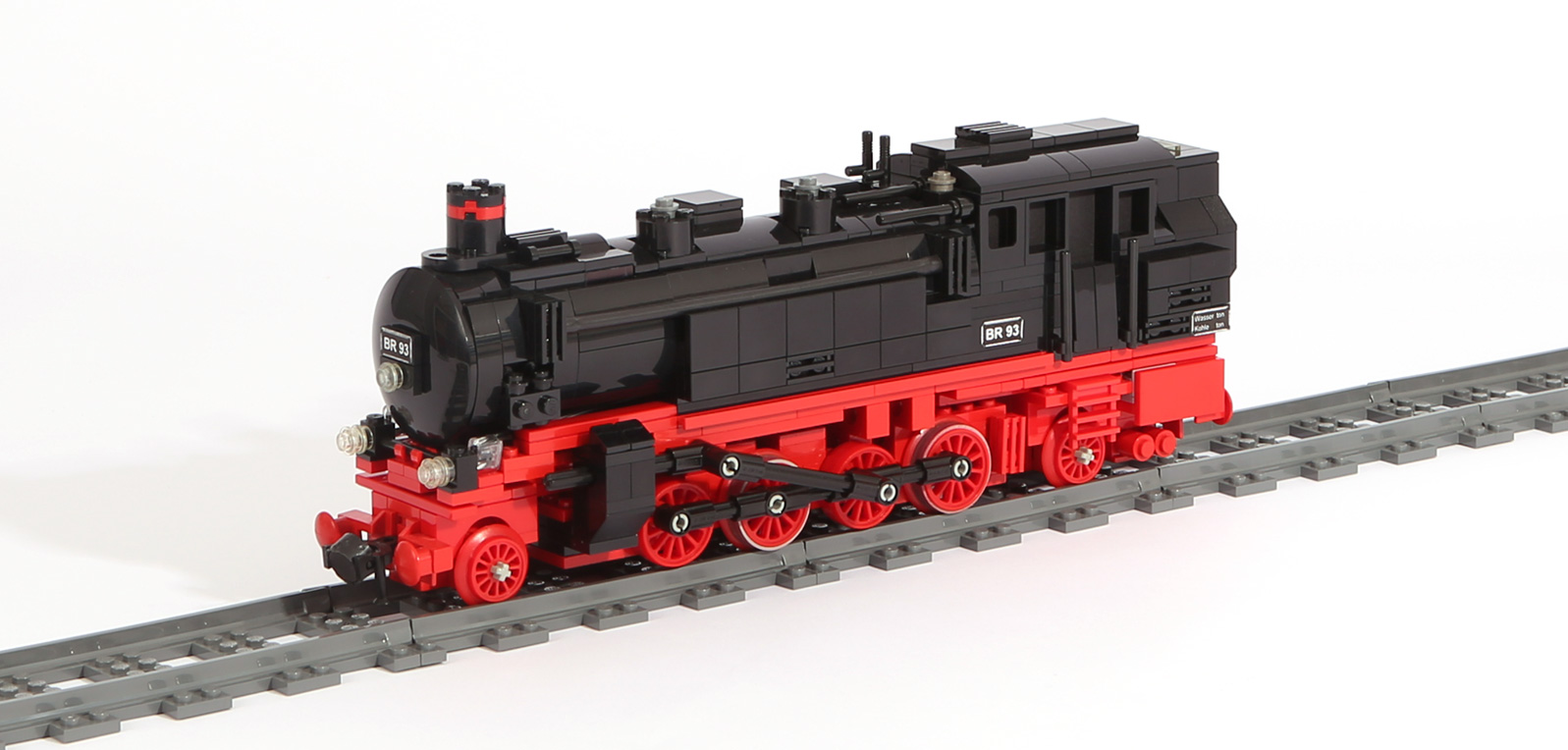 Dampflok-Baureihe BR 93 (eigene Modelle)