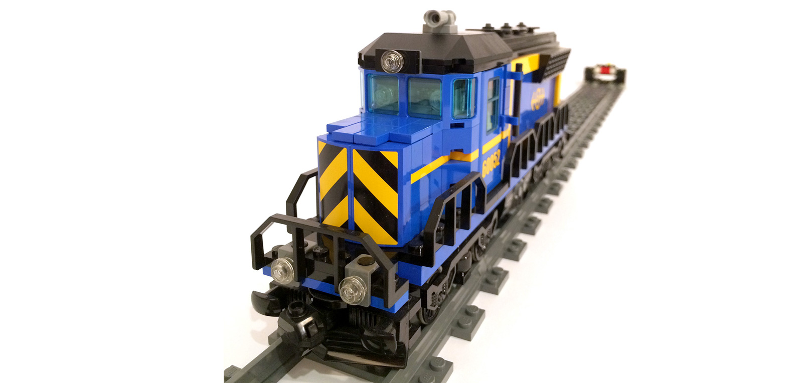 US DIESEL LOCOMOTIVE GP38/40 – Original LEGO Set 60052