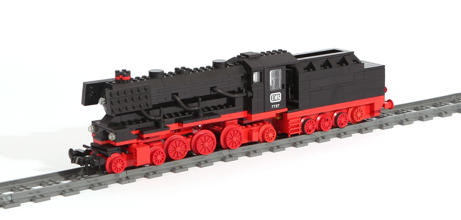 Dampflok BR 01 (2-C-1) (eigene Modelle)