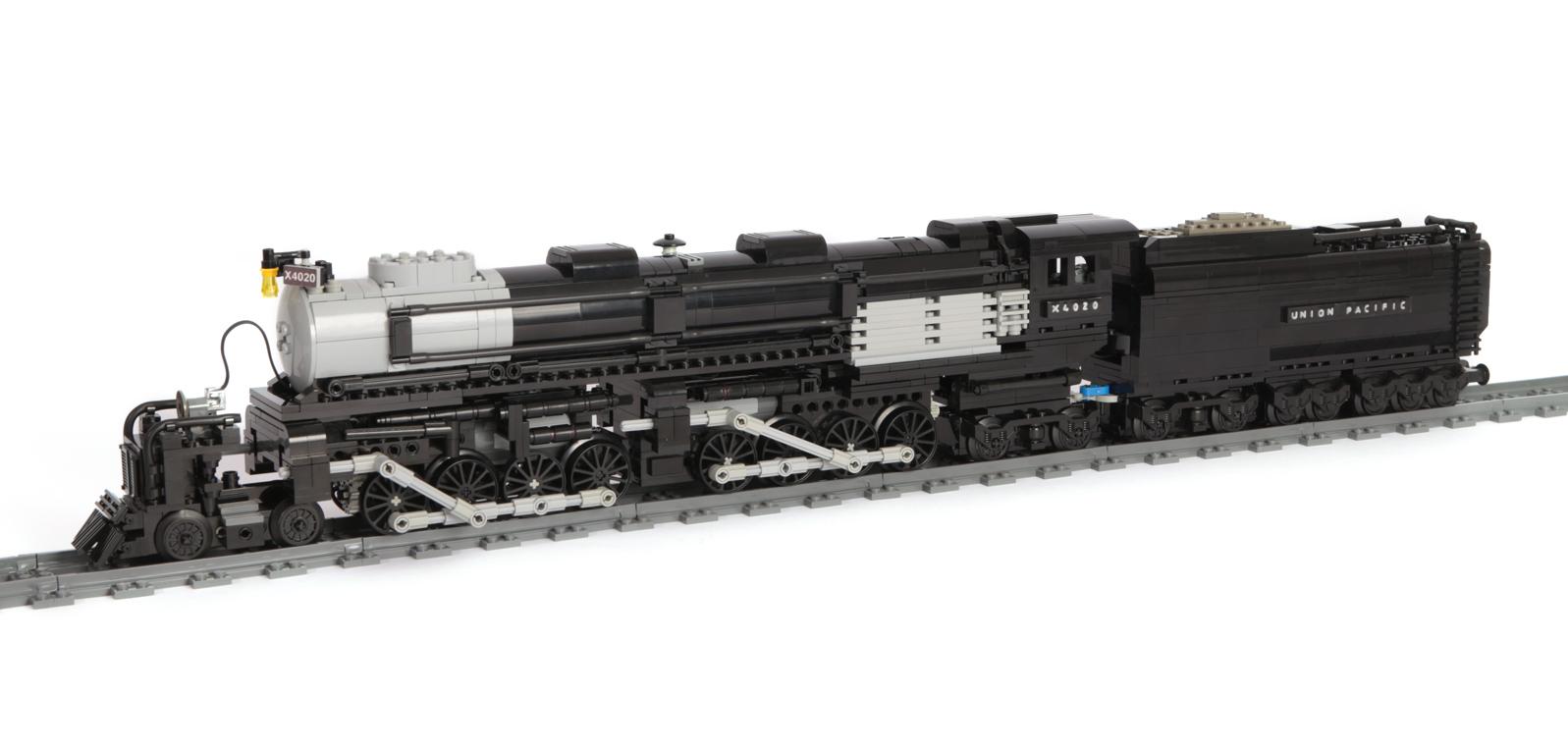 Baureihe X4020 Mallet (BIG BOY) (eigene Modelle MOC) modifiziert MK II