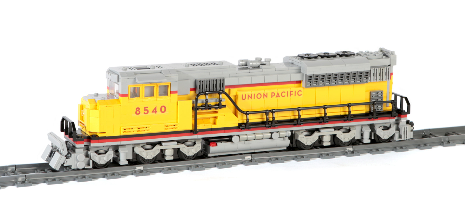 US-Elektro-Diesel EMD-SD90MAC (eigene Modelle MOC)