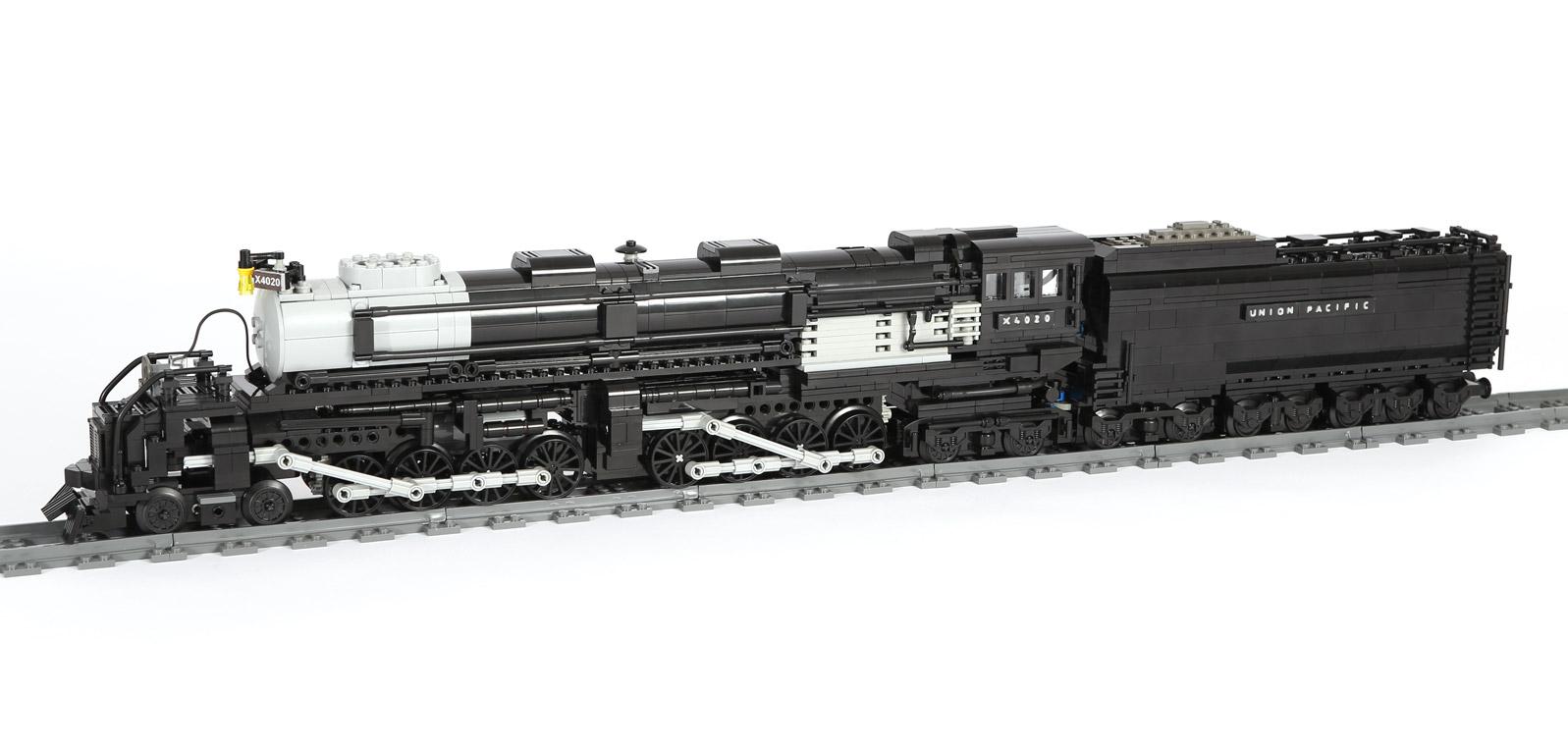 Baureihe X4020 Mallet (BIG BOY) (eigene Modelle MOC) modifiziert MK IV